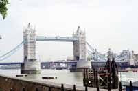 Tower Bridge, Lond�n. Velk� Brit�nie.
