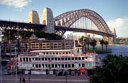 Sydney a Harbour bridge. Austr�lie.