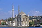 Dolmabahce pal�c, s�dlo posledn�ch Ottomansk�ch sult�n�, postaven 1843-1856, Istanbul. Turecko.