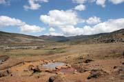 Národní park Bale Mountain. Jih,  Etiopie.