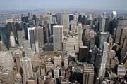 Pohled z Empire State Building, Manhattan, New York. Spojen� st�ty americk�.
