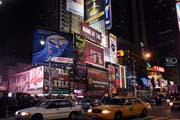 Times Square, Manhattan, New York. Spojen� st�ty americk�.