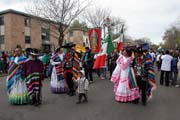 May Day pr�vod a oslava, Minneapolis, Minnesota. Spojen� st�ty americk�.