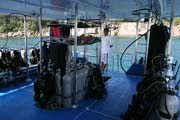 Pot�p�n� na ostrovech Similan, West Coast Divers liveaboard. Thajsko.